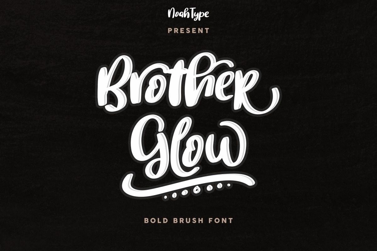 BrotherGlow-Font