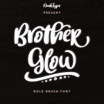 BrotherGlow Font