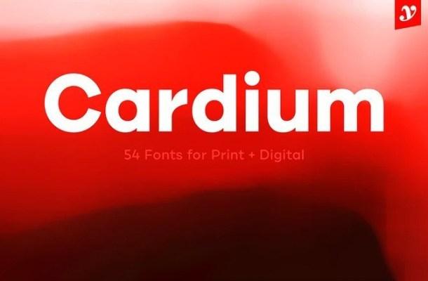 Cardium Font