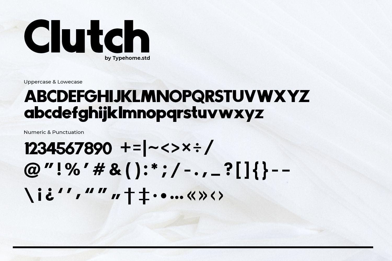 Clutch-Font-3