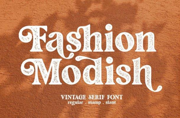 Fashion-Modish-Font