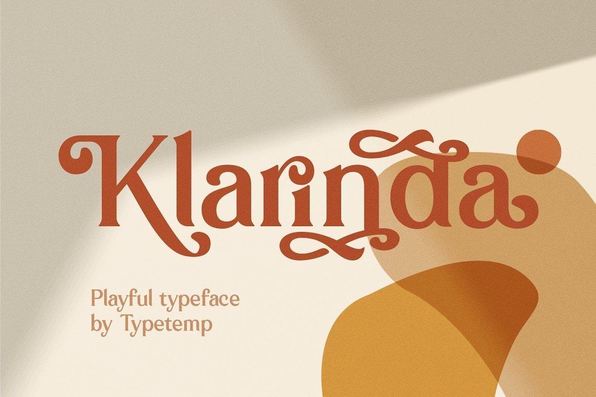 Klarinda-Font