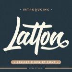 Latton Font