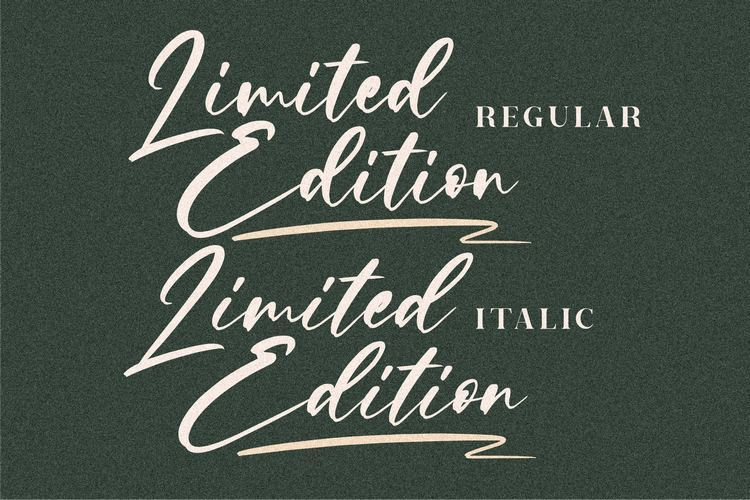 Limited-Edition-Font-2