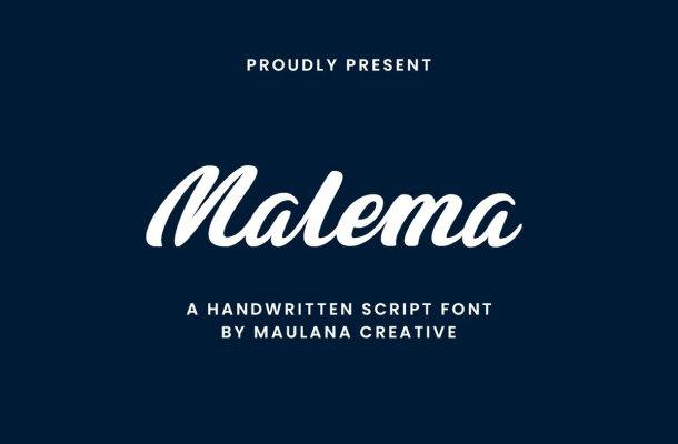Malema-Font-1
