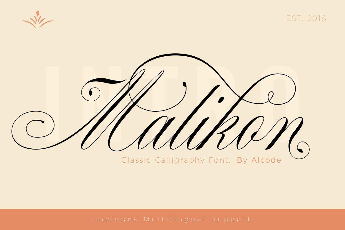 Malikon-Font
