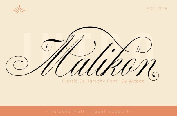 Malikon Font