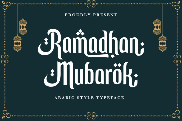 Ramadhan-Mubarok-Font