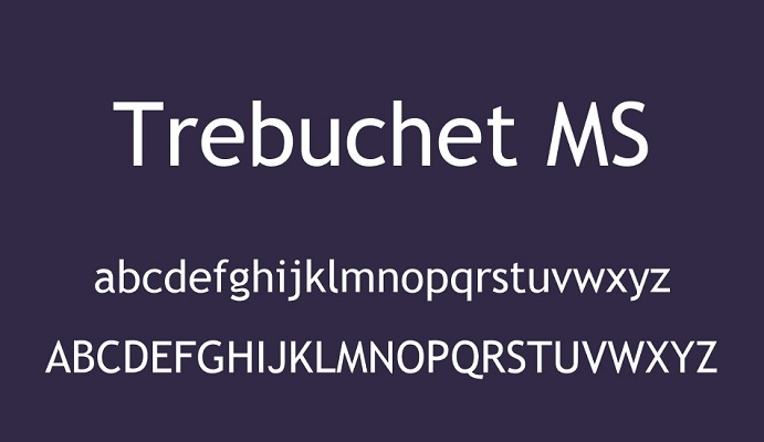 Trebuchet-MS-Font