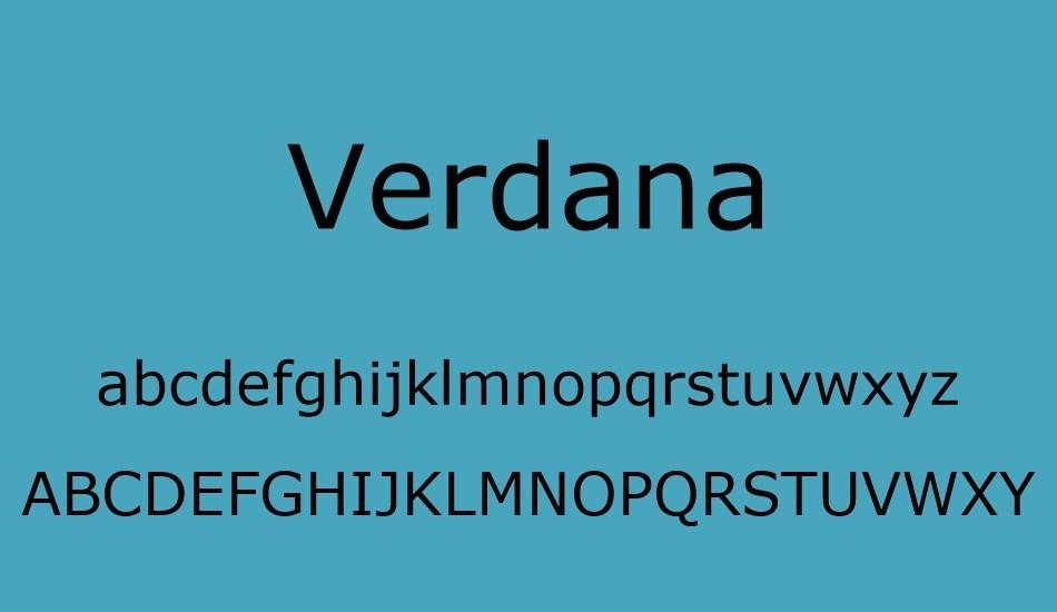 Verdana-Font-2