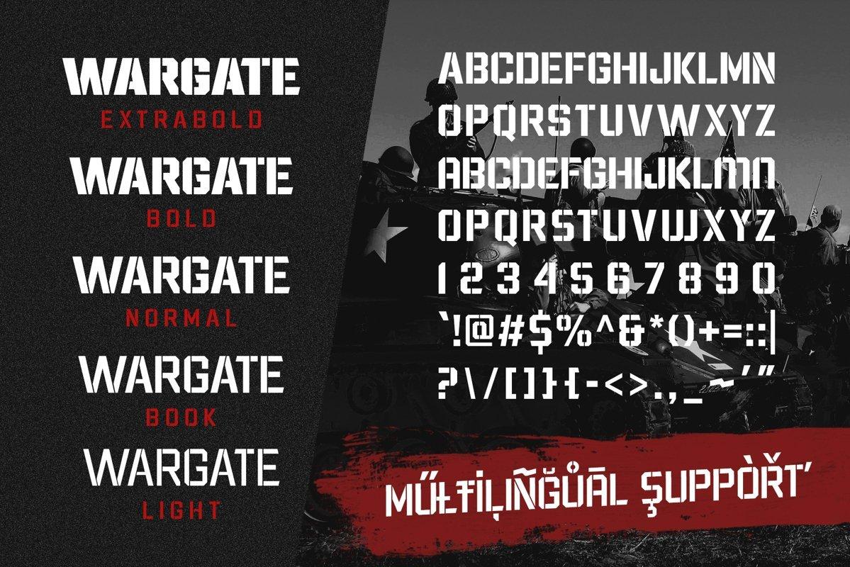 Wargate-Font-3
