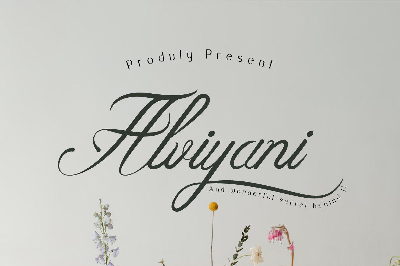 Alviyani-Font