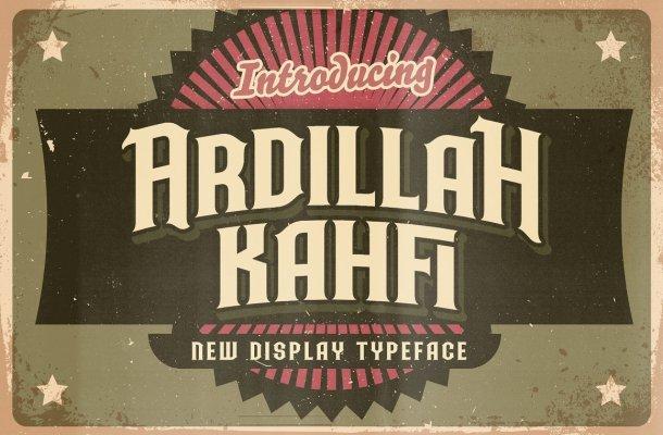 Ardilah-Kafi-Font