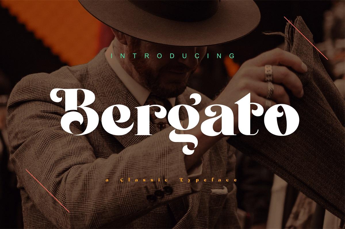 Bergato-Font