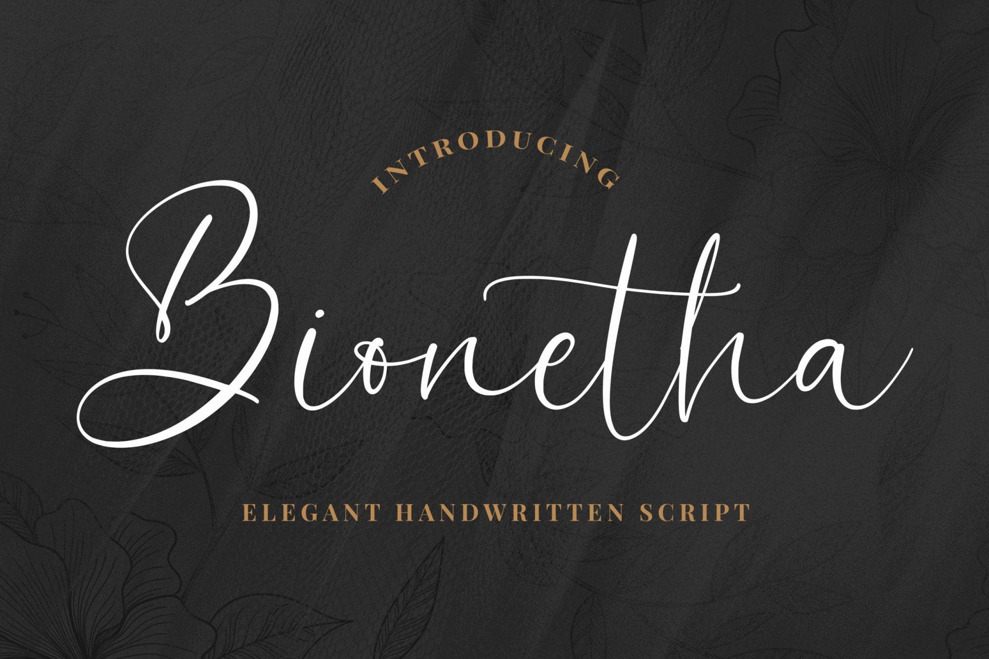 Bionetha-Font