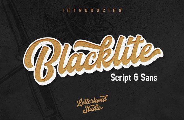 Blacklite Font