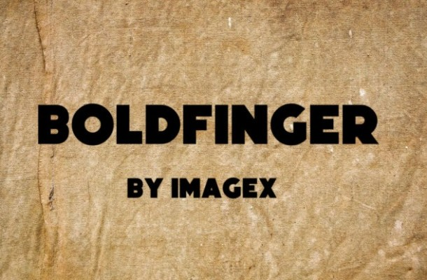 Boldfinger Font