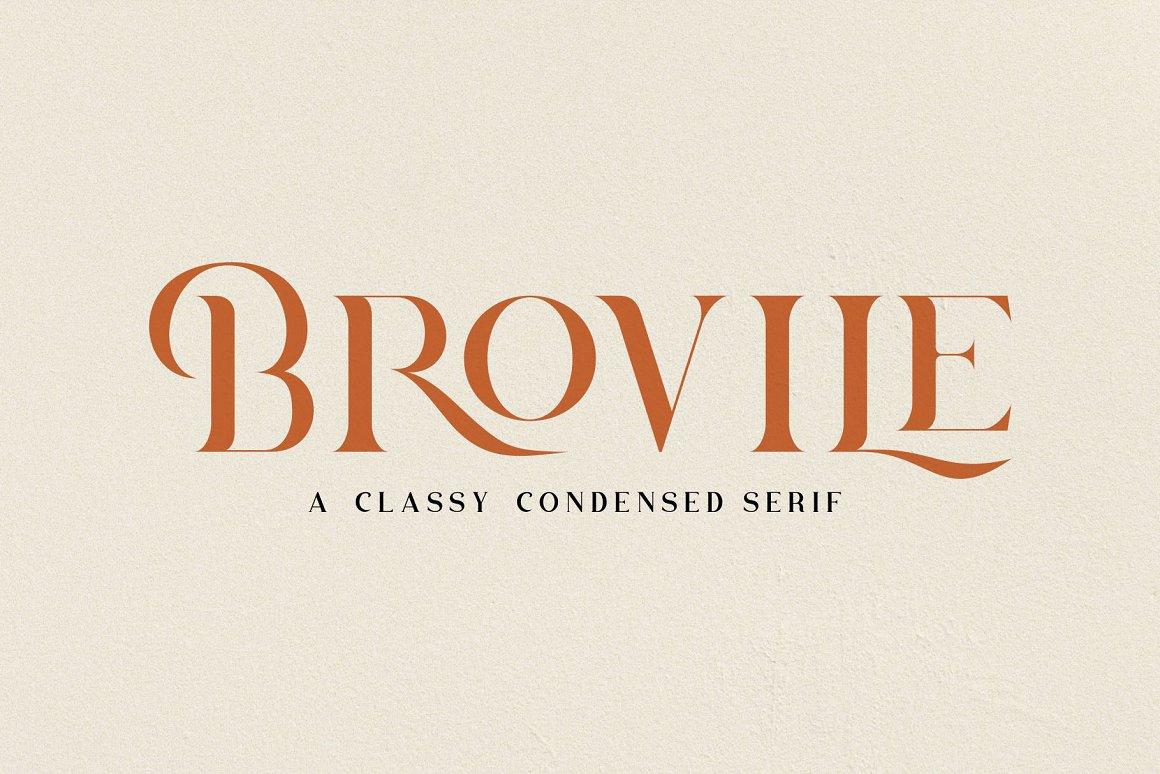 Brovile-Font