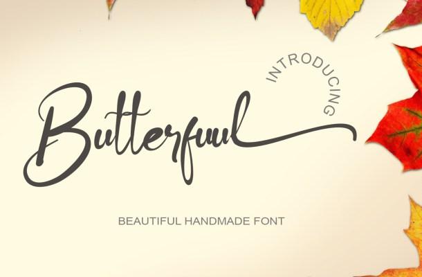 Butterfuul Font