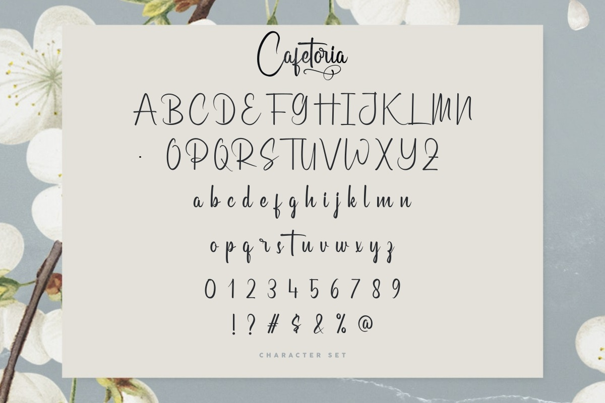 Cafetoria-Font-3