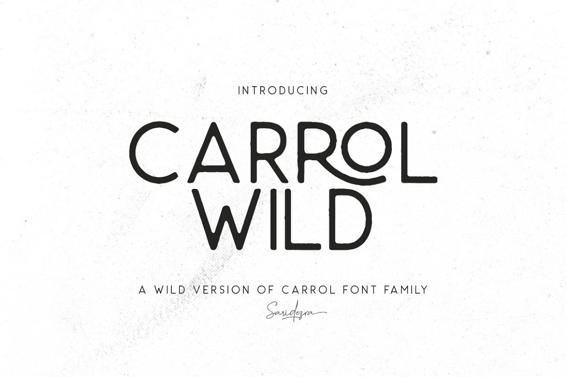 Carrol-Wild-Font