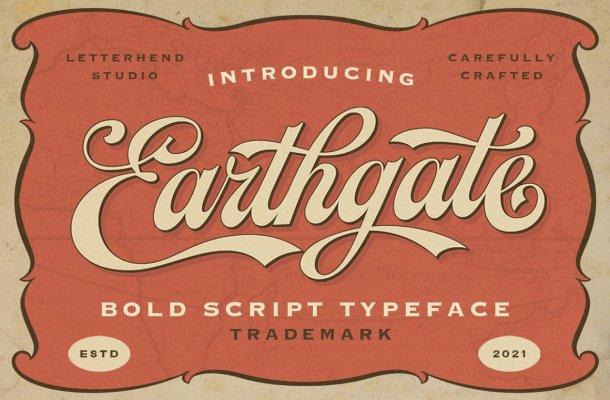 Earthgate-Font