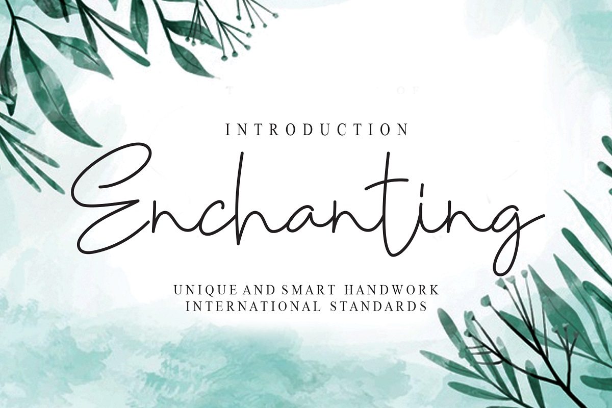 Enchanting-Font