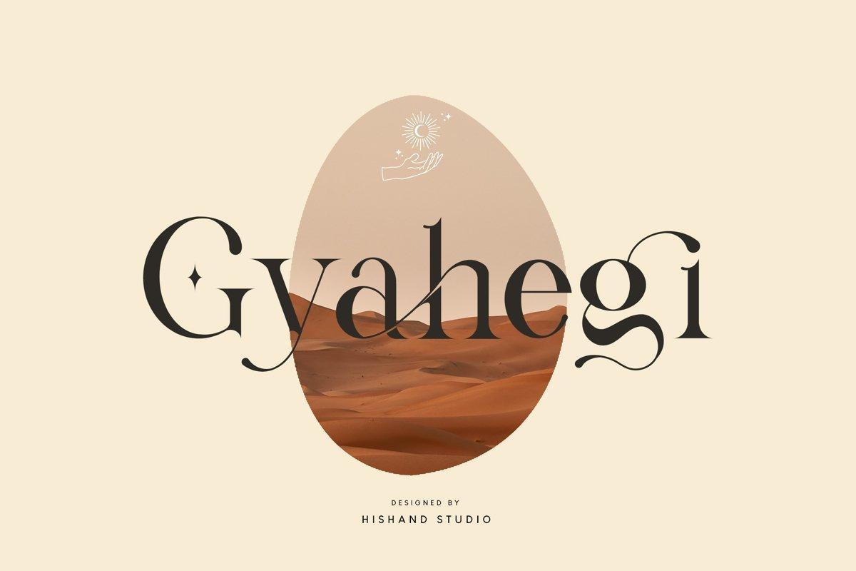 Gyahegi-Font