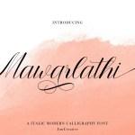Mawarlathi Font