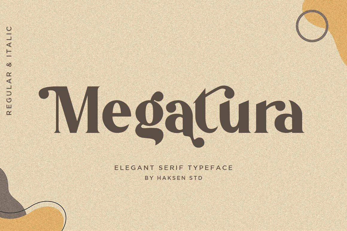Megatura-Font