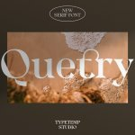Quetry Font