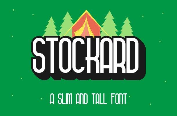 Stockard Font