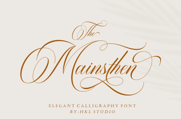 The-Mainsthen-Font