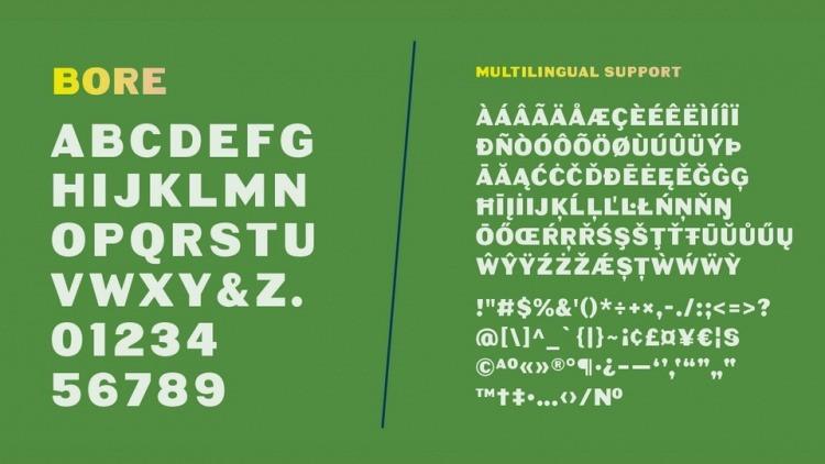 Bore-Font-3