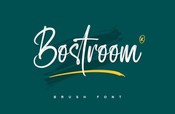 Bostroom-Font