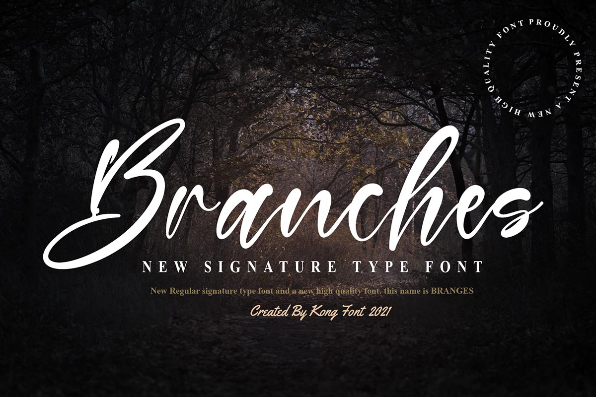 Branches-Font