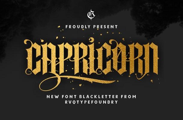 Capricorn Font
