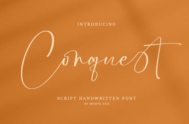 Conquest Font