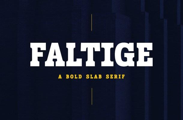 Faltige-Font