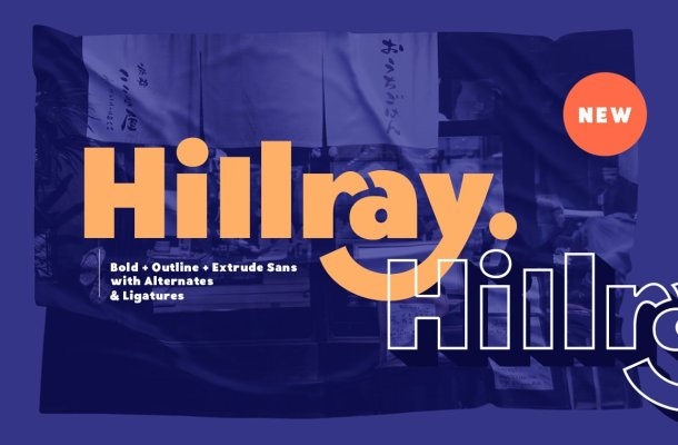 Hillray-Font