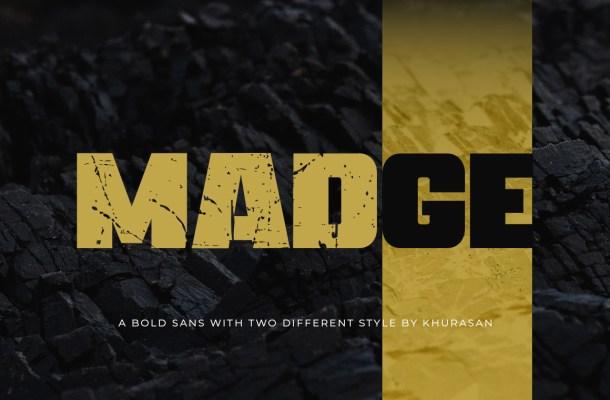 Madge-Font
