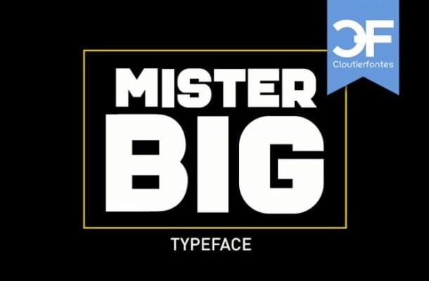 Mister-Big-Font