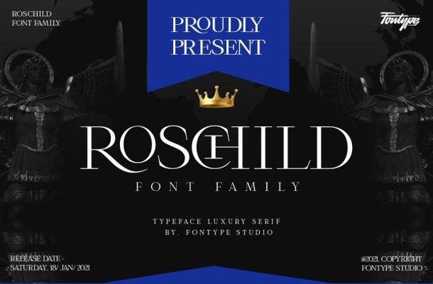 Roschild-Font