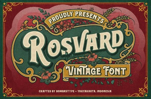 Rosvard-Font