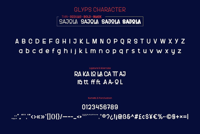 Sajola-Font-3