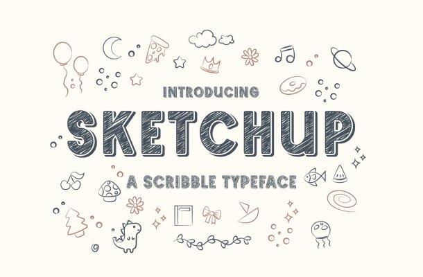 Sketchup-Font