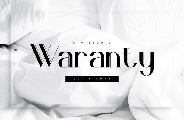Waranty-Serif-Font