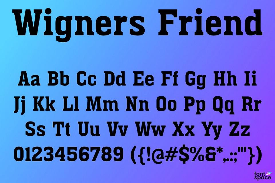 Wigners-Friend-Font-3