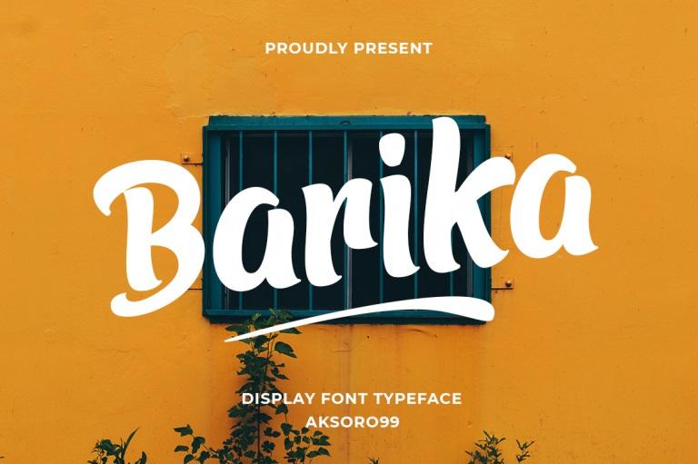 Barika-Font