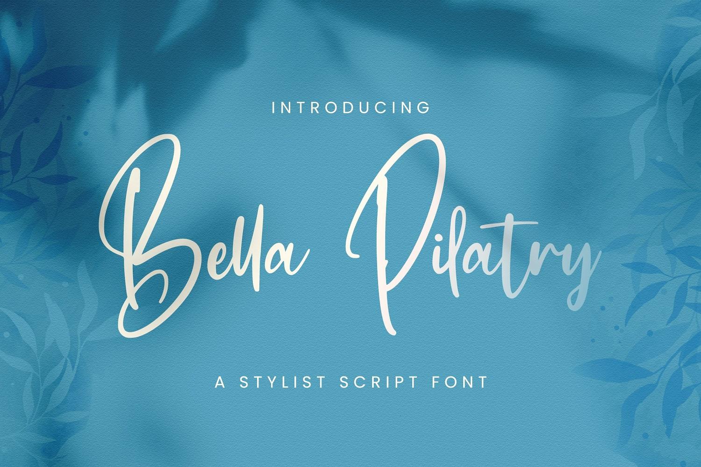 Bella-Pilatry-Font